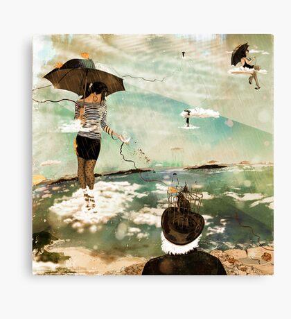 CloudWalkers-One Canvas Print