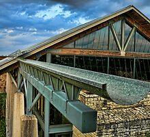 Aqueduct at Lady Bird Auditorium - Austin Texas by Jack McCabe