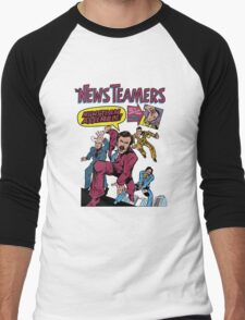 News Team Assemble! Men's Baseball ¾ T-Shirt