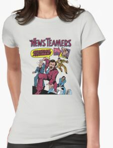 News Team Assemble! Womens Fitted T-Shirt