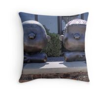Charlie and Linus Throw Pillow