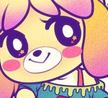 Pastel Isabelle Sticker