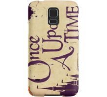 Once upon a time Samsung Galaxy Case/Skin