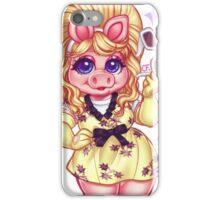 The Fabulous Miss Piggy iPhone Case/Skin