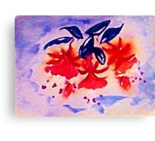 Fushia, the Dancing ballernia Canvas Print