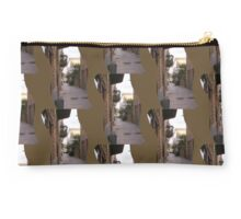 traditional Greek alley Studio Pouch