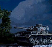 Panzerkampfwagen IV  by Steve  Woodman