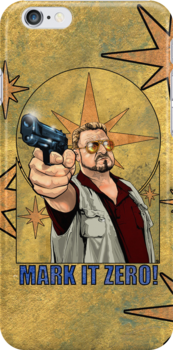Walter from the Big Lebowski by erikrose