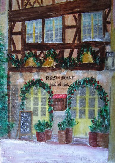Restaurant Noel et Joie by HomeTimeArt