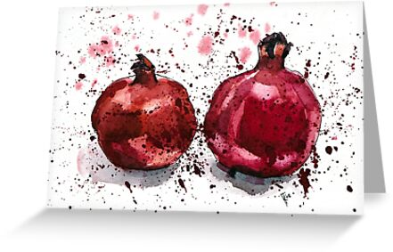 Pomegranate Evening by Aleksandra Kabakova