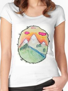 Folk Women's Fitted Scoop T-Shirt