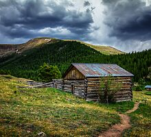 General Store - Independence Ghost Town by Toby Harriman
