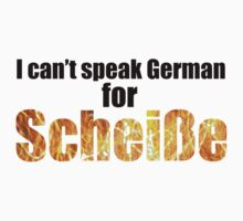I can't speak German! by TonyVuko