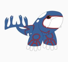 Kyogre Sticker by Mechanical-Koi