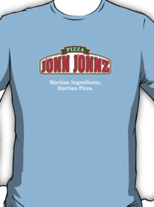 Martian Manhunter Pizza T-Shirt