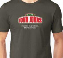 Martian Manhunter Pizza Unisex T-Shirt