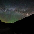 Milky Way Over Aspen, CO - Possibly A Little Of The Aurora Too by Toby Harriman