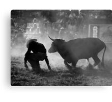 0102 Caught Unawares Metal Print