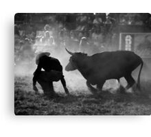 0102 Caught Unawares Canvas Print