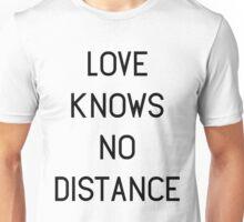 Love Knows No Distance Unisex T-Shirt