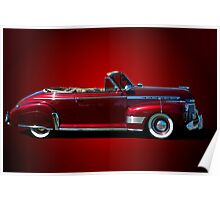 1941 Chevrolet Special Deluxe Convertible Poster