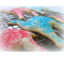Christmas Camel Cookies Cooling on rack Photographic Print