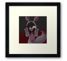 Yui in a Mangle Cosplay Framed Print