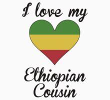 I Love My Ethiopian Cousin Kids Tee