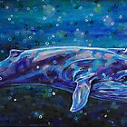 Big Blue Whale by Rachelle Dyer