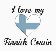 I Love My Finnish Cousin One Piece - Long Sleeve