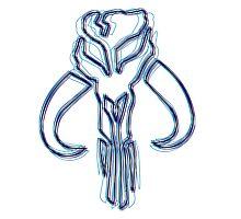 Bounty Hunter Emblem (Alkali Scheme) by GekiDesign