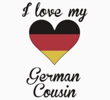 I Love My German Cousin One Piece - Short Sleeve