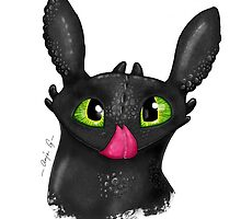 Toothless Bust  by Problematix