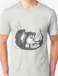 Playin' Ya'self - Black T-Shirt