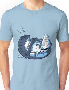 Playin' Ya'self - Blue Unisex T-Shirt