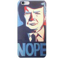 Donald Trump Nope Design iPhone Case/Skin
