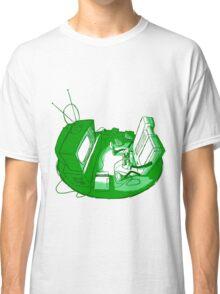 Playin' Ya'self - Green Classic T-Shirt