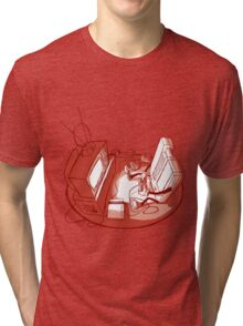 Playin' Ya'self - Red Tri-blend T-Shirt
