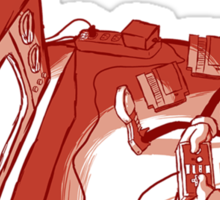 Playin' Ya'self - Red Sticker