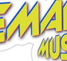 Lemaitre Music Sticker
