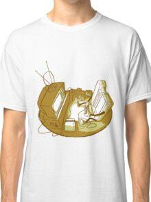 Playin' Ya'self - Yellr.Brownish Classic T-Shirt
