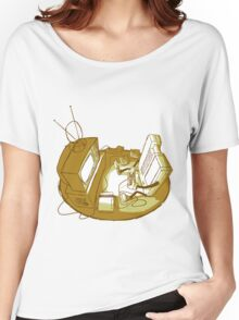 Playin' Ya'self - Yellr.Brownish Women's Relaxed Fit T-Shirt