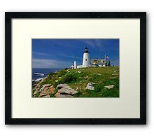 Pemaquid Lighthouse, Maine, USA Framed Print