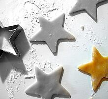 Christmas Cookie Cutter Star by Pamela Burger