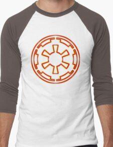 Galactic Empire Emblem (Acid Scheme) Men's Baseball ¾ T-Shirt