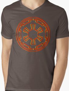 Galactic Empire Emblem (Acid Scheme) Mens V-Neck T-Shirt