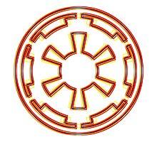 Galactic Empire Emblem (Acid Scheme) by GekiDesign