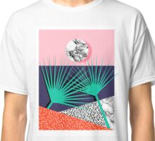 Head Rush - palm springs throwback desert sunrise neon 80s style vintage fresh home decor hipster college Classic T-Shirt