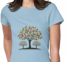 More trees... Womens Fitted T-Shirt