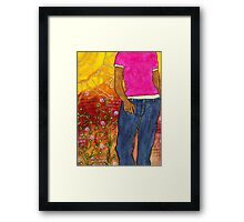 Just Out for a Stroll Framed Print